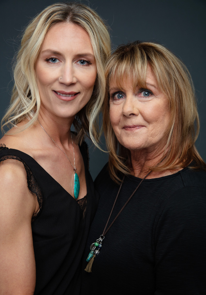 Gail Fyhrie and Jennifer Fyhrie, Beauty Portraits